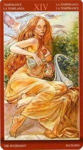 14 Аркан Умеренность Таро Магии Наслаждений