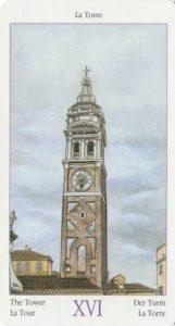 16 Башня из Таро Казанова
