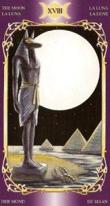 18 Аркан Луна Таро Таинственного Мира