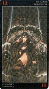 3 Императрица Темное Таро Ройо
