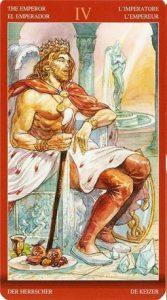 4 Аркан Император Таро Магии Наслаждений
