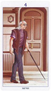 4 Мечей Таро 78 Дверей