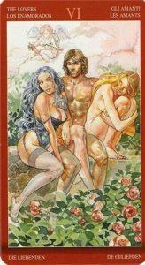 6 Аркан Влюбленные Таро Магии Наслаждений