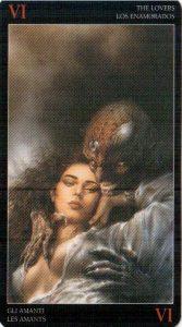 6 Влюбленные Темное Таро Ройо