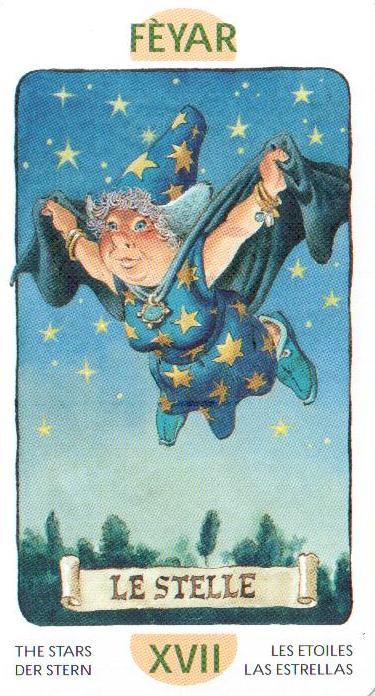 17 Аркан Звезда из Таро Гномов