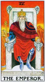 4. Император Таро Райдера Уэйта