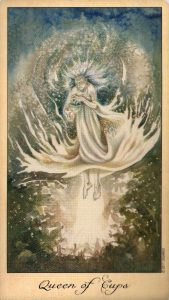 Королева Кубков Таро Призраков и Духов Ghosts & Spirits Tarot