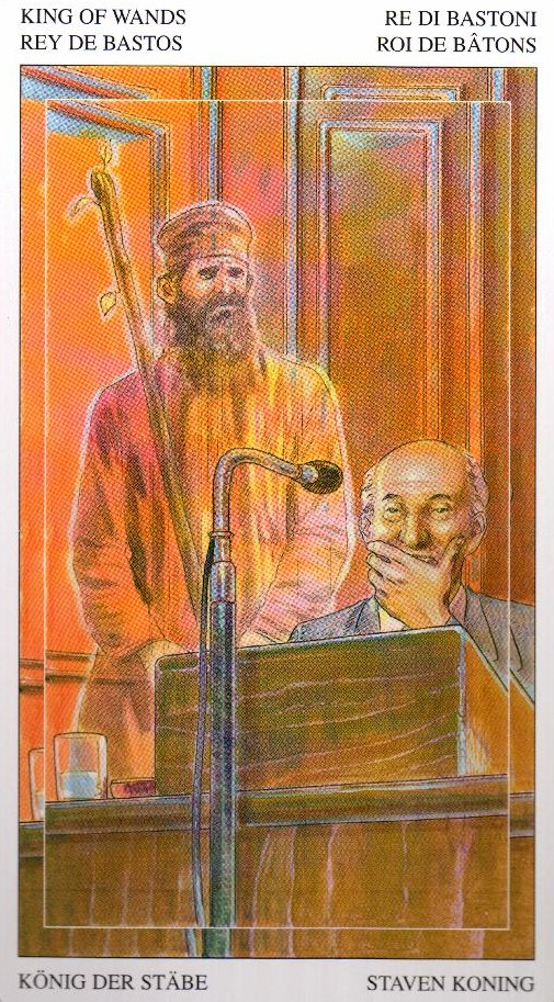 Король Жезлов Таро Мир Духов Tarot of the Spirit World
