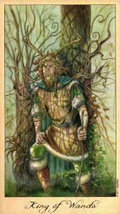 Король Жезлов Таро Призраков и Духов Ghosts & Spirits Tarot