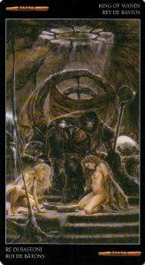 Король Жезлов Темное Таро Ройо