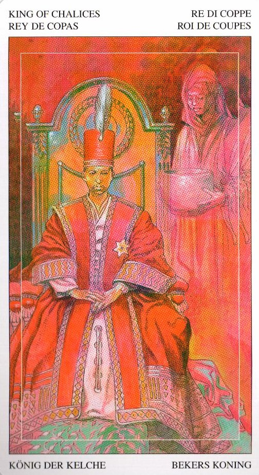 Король Кубков Таро Мир Духов Tarot of the Spirit World