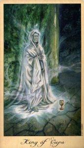 Король Кубков Таро Призраков и Духов Ghosts & Spirits Tarot