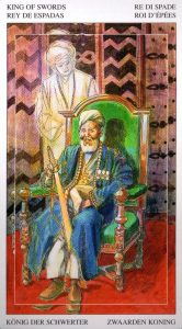 Король Мечей Таро Мир Духов Tarot of the Spirit World
