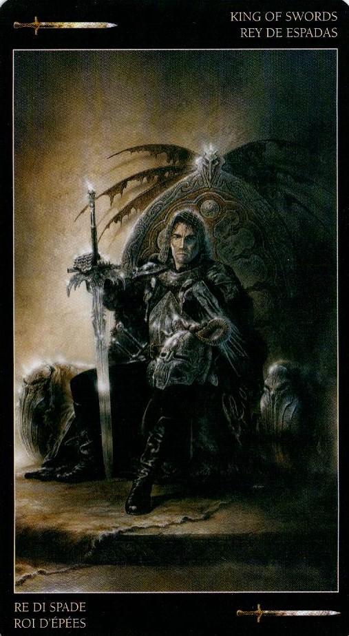Король Мечей Темное Таро Ройо