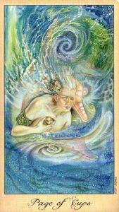 Паж Кубков Таро Призраков и Духов Ghosts & Spirits Tarot