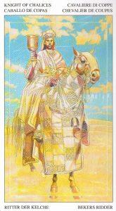 Рыцарь Кубков Таро Мир Духов Tarot of the Spirit World