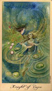 Рыцарь Кубков Таро Призраков и Духов Ghosts & Spirits Tarot