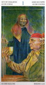 Туз Кубков Таро Мир Духов Tarot of the Spirit World