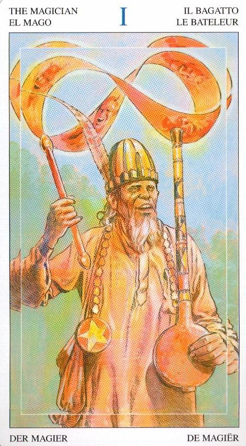 1 Маг Таро Мир Духов Tarot of the Spirit World