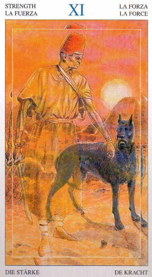 11 Сила Таро Мир Духов Tarot of the Spirit World