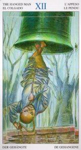 12 Повешенный Таро Мир Духов Tarot of the Spirit World