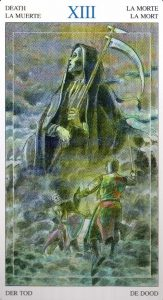 13 Смерть Таро Мир Духов Tarot of the Spirit World