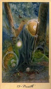13 Смерть Таро Призраков и Духов Ghosts & Spirits Tarot