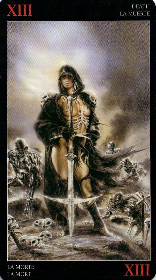 13 Смерть Темное Таро Ройо