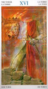16 Башня Таро Мир Духов Tarot of the Spirit World