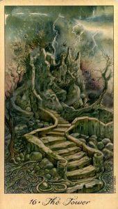 16 Башня Таро Призраков и Духов Ghosts & Spirits Tarot