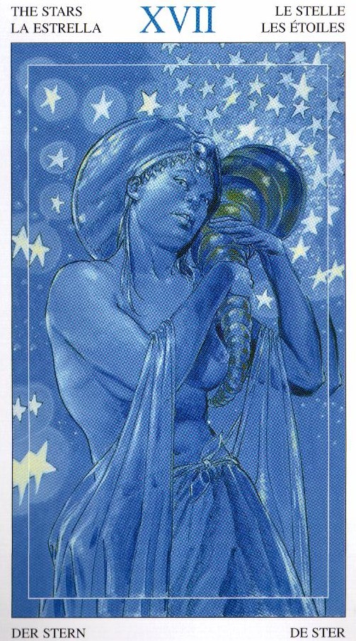 17 Звезда Таро Мир Духов Tarot of the Spirit World