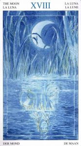 18 Луна Таро Мир Духов Tarot of the Spirit World