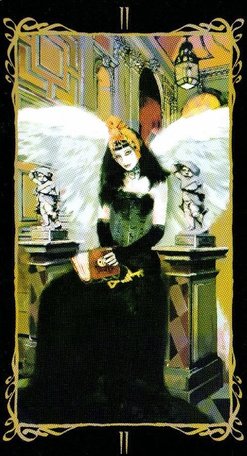 2 Верховная Жрица Таро Темных Ангелов