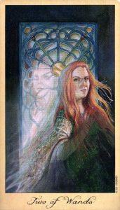 2 Жезлов Таро Призраков и Духов Ghosts & Spirits Tarot