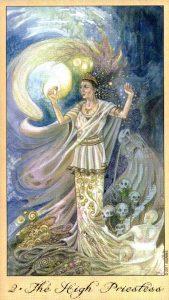 2 Жрица Таро Призраков и Духов Ghosts & Spirits Tarot