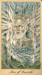 2 Мечей Таро Призраков и Духов Ghosts & Spirits Tarot