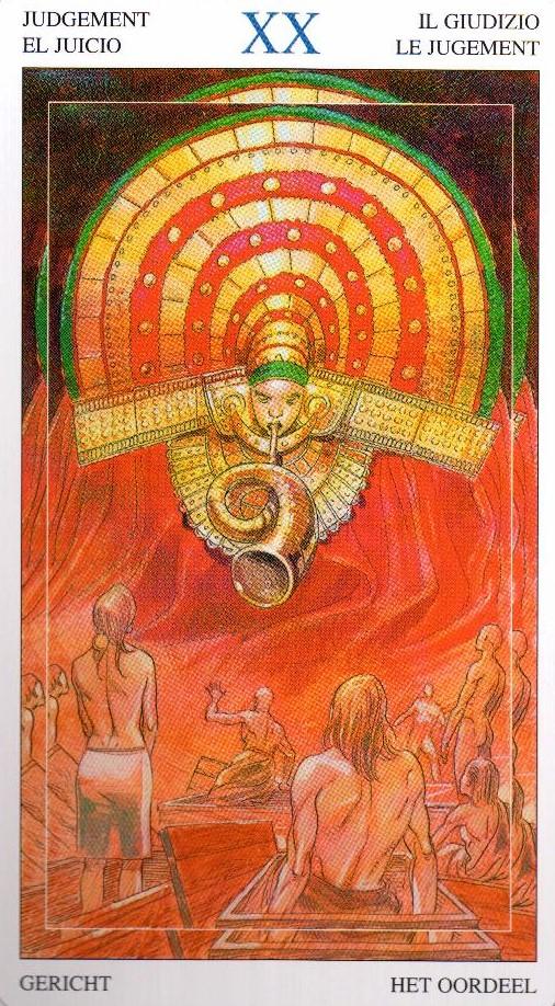 20 Суд Таро Мир Духов Tarot of the Spirit World