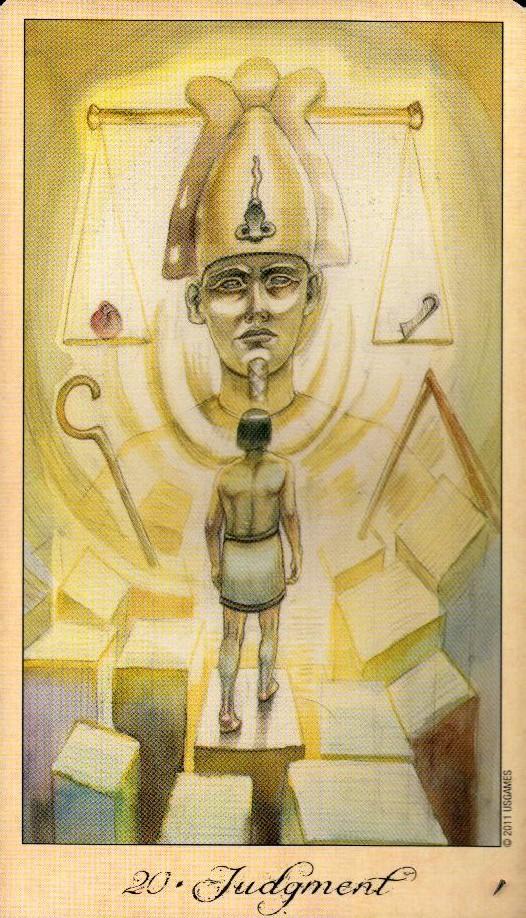 20 Суд Таро Призраков и Духов Ghosts & Spirits Tarot