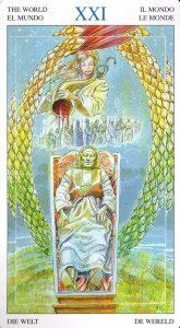 21 Мир Таро Мир Духов Tarot of the Spirit World