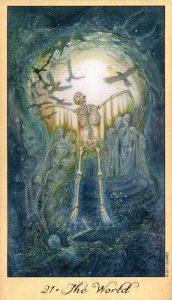 21 Мир Таро Призраков и Духов Ghosts & Spirits Tarot