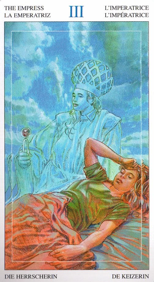 3 Императрица Таро Мир Духов Tarot of the Spirit World
