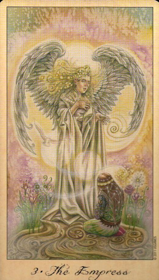3 Императрица Таро Призраков и Духов Ghosts & Spirits Tarot