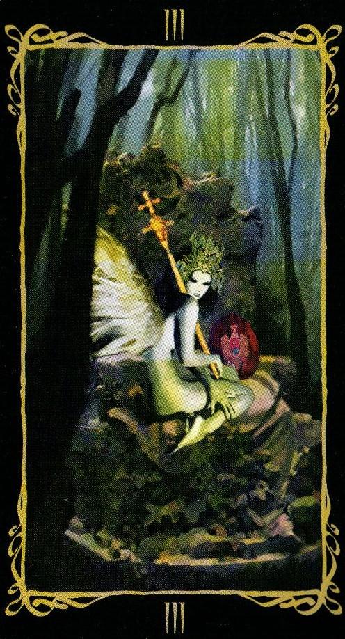 3 Императрица Таро Темных Ангелов