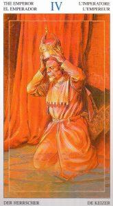 4 Император Таро Мир Духов Tarot of the Spirit World