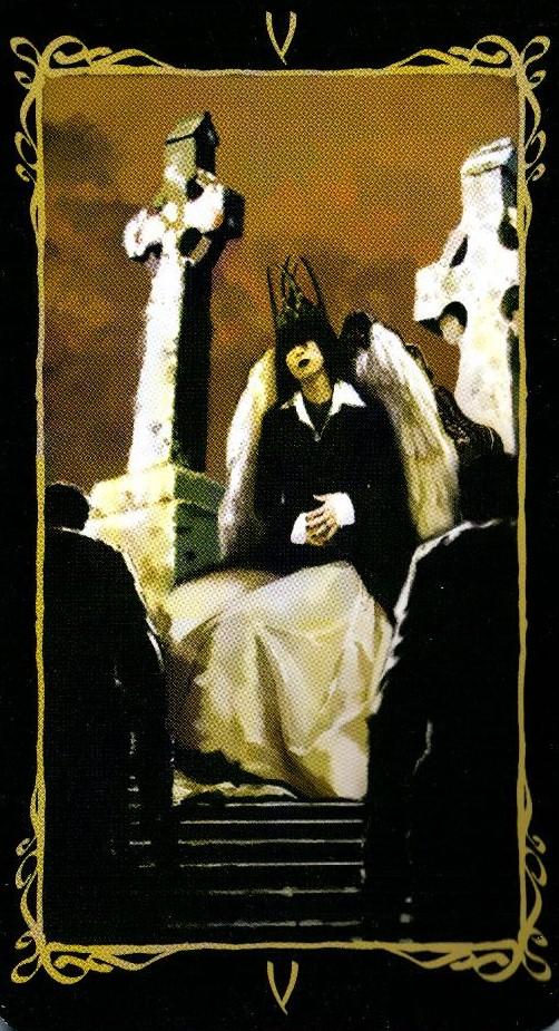5 Иерофант Верховный Жрец Таро Темных Ангелов