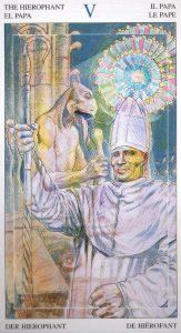 5 Иерофант Таро Мир Духов Tarot of the Spirit World