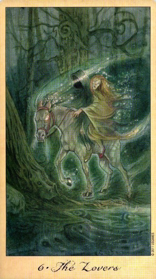 6 Влюбленные Таро Призраков и Духов Ghosts & Spirits Tarot