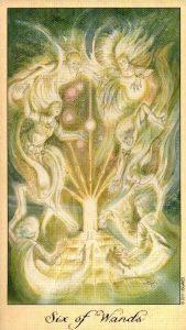 6 Жезлов Таро Призраков и Духов Ghosts & Spirits Tarot