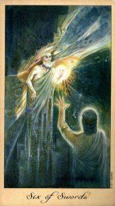 6 Мечей Таро Призраков и Духов Ghosts & Spirits Tarot