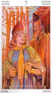7 Жезлов Таро Мир Духов Tarot of the Spirit World